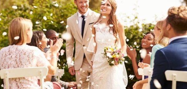 Wedding Confetti and Bubble